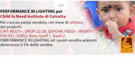 PERFORMANCE in LIGHTING: una luce per i bambini!